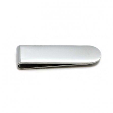 Individuellbesonders - Geldscheinklammer Silber aus Edelstahl mit Gravur - Onlineshop Schatzinsel Schmuck