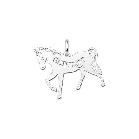 anhanger-motiv-pferd-pony-und-namensgravur-aus-silber