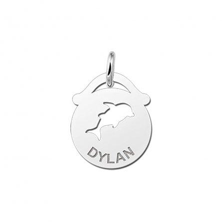 runder-anhanger-mit-ausgestanztem-motiv-delfin