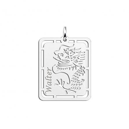 namensanhanger-motiv-chinesicher-drachen-aus-silber-gravur