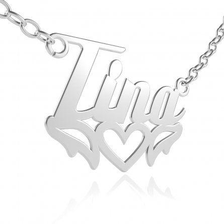 Deine persönliche Namenskette Silber mit Tribal