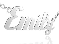 Namenskette Emily